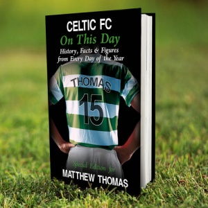 Personalised On This Day Book - Celtic