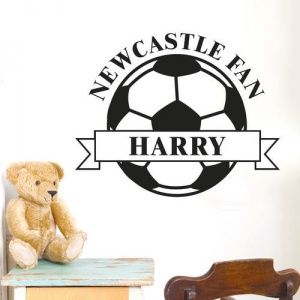 Personalised Wall Art - White Football