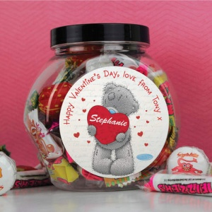 Personalised Tatty Teddy Me to You Sweet Jar - Big Heart