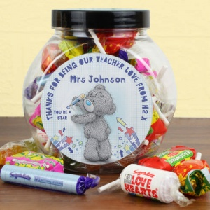 Personalised Tatty Teddy Me To You Sweet Jar - Teacher