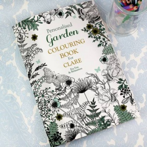 Personalised Colouring Book - Gardening