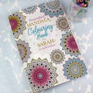 Personalised Colouring Book - Mandala