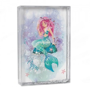 Personalised Glitter Shaker - Mermaid