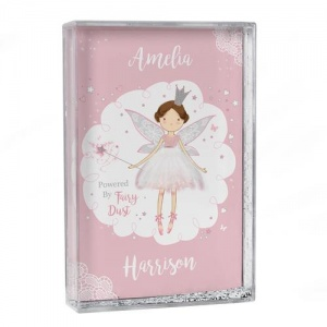 Personalised Glitter Shaker - Fairy Princess