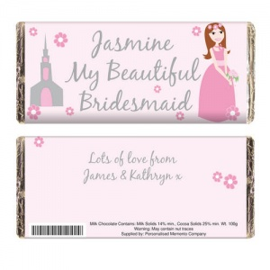 Fabulous Wedding Chocolate Bar - Bridesmaid