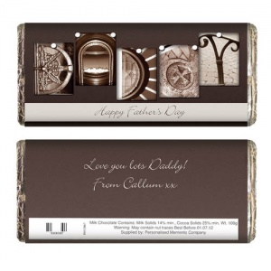 Affection Art Chocolate Bar - Daddy