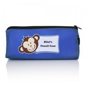 Personalised Pencil Case - Monkey Motif