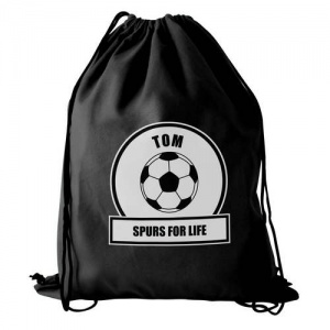 Personalised Swim/Kit Bag - White Football Fan