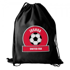 Personalised Swim/Kit Bag - Red Football Fan