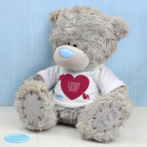 Me To You Bear with Personalised Heart T-Shirt