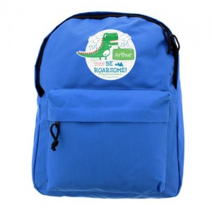 Personalised Backpack -  Be Roarsome Dinosaur