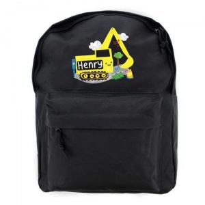 Personalised Backpack - Digger