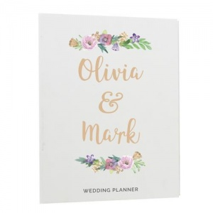 Personalised Wedding Planner - Floral Watercolour