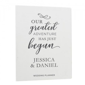 Personalised Wedding Planner - Our Greatest Adventure