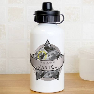 Personalised Drinks Bottle - Army Camo