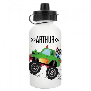 Personalised Water Bottle - Monster Truck