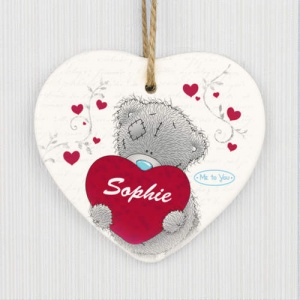 Personalised Tatty Teddy Me to You Decoration - Big Heart