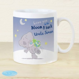 Personalised Tiny Tatty Teddy Mug - To the Moon & Back