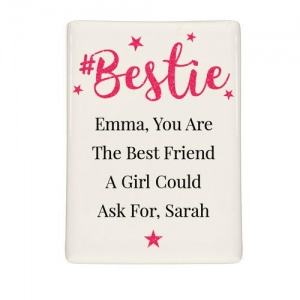 Personalised Fridge Magnet - #Bestie