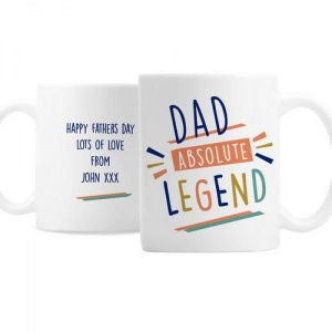 Personalised Ceramic Mug - Absolute Legend
