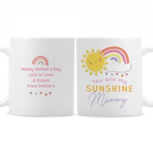 Personalised Ceramic Mug - You Are My Sunshine