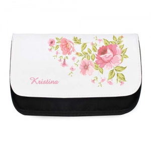 Personalised Make Up Bag - Pretty Rose