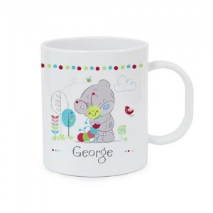 Personalised Plastic Mug - Tiny Tatty Teddy Cuddle Bug