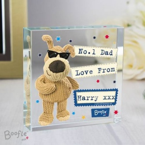 Personalised Crystal Token - Boofle Stars