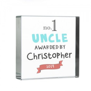 Personalised Crystal Token - No.1 Awarded By
