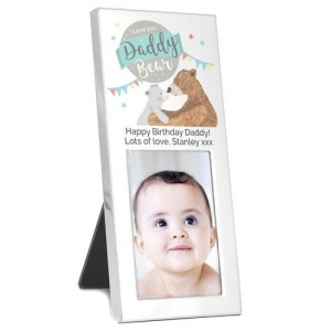 Personalised 2x3 Photo Frame - Daddy Bear