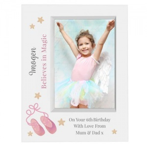 Personalised 5x7 Box Photo Frame - Swan Lake Ballet