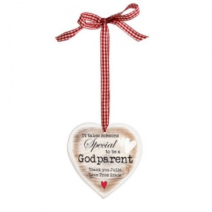 Wooden Heart Shaped Decoration - Someone Special