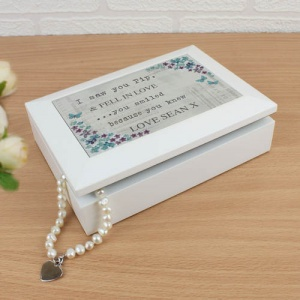 Jewellery Box - Forget me not