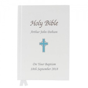 Personalised Bible - Blue Cross
