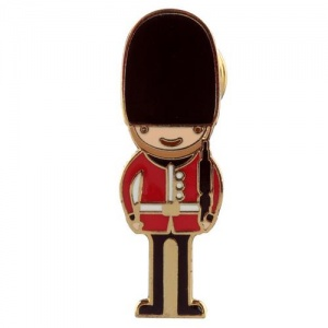 Enamel Pin Badge - London Guardsman