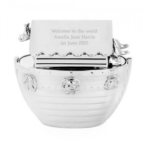 Personalised Noah's Ark Money Box