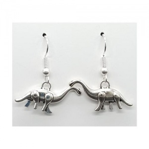 3D Dinosaur Earrings