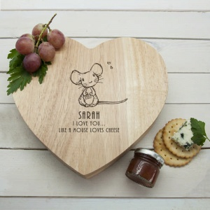 Cheeseboard Set - Like A Mouse Loves Cheese