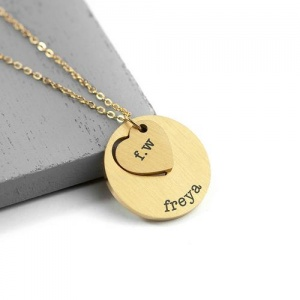Personalised Necklace - Heart