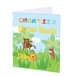 A4 Scrapbook, personalised cover - Animals