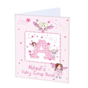 A4 Scrapbook, personalised cover - Fairy