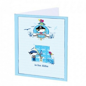 A4 Scrapbook, personalised cover - Pirate