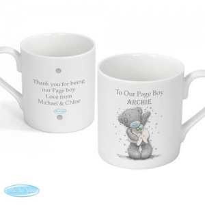 Personalised 'Tatty Teddy' Me To You Wedding Mug - Male Role