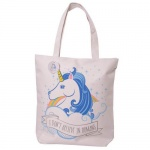 Zip Up Shopping Bag - Unicorn