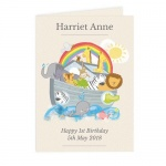 Personalised Card - Noah's Ark