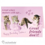 Personalised Rachael Hale Card -  Great Friends