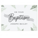 Personalised Baptism Card