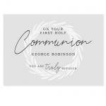 Personalised First Holy Communion Card - Truly Blessed