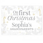Personalised Card - On Your First Christmas As