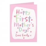 Personalised Card - Happy First Mother's Day